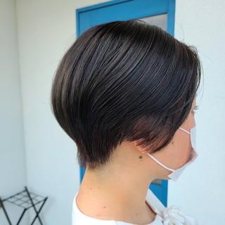 ハンサムショート ショートヘア 爽やか 大人可愛い ヘアスタイルや髪型の写真・画像