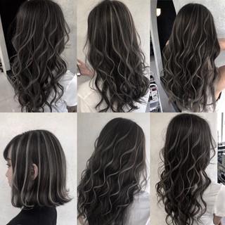 ハイライト ストリート 大人ハイライト 極細ハイライト ヘアスタイルや髪型の写真・画像