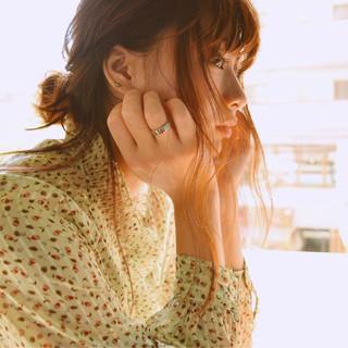 前髪あり セミロング 冬 外国人風 ヘアスタイルや髪型の写真・画像 ヘアスタイルや髪型の写真・画像