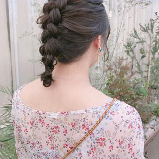 ヘアアレンジ 結婚式 モード 成人式 ヘアスタイルや髪型の写真・画像