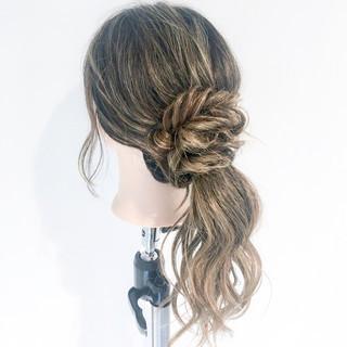 ヘアアレンジ ルーズ デート 上品 ヘアスタイルや髪型の写真・画像