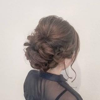 結婚式 成人式 ロング ヘアアレンジ ヘアスタイルや髪型の写真・画像