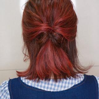 ガーリー ボブ ヘアスタイルや髪型の写真・画像 ヘアスタイルや髪型の写真・画像