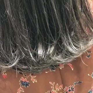 アッシュグレージュ 外国人風カラー グレージュ アッシュ ヘアスタイルや髪型の写真・画像