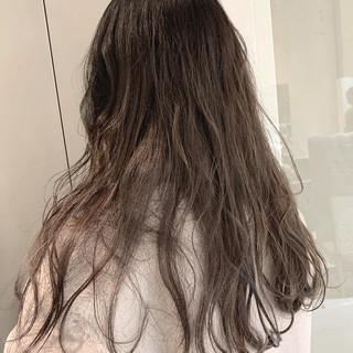 モテ髪 波ウェーブ ロング ナチュラル ヘアスタイルや髪型の写真・画像