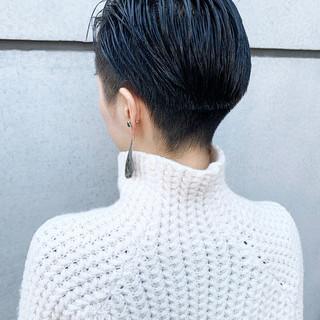モード 刈り上げ 刈り上げ女子 ショート ヘアスタイルや髪型の写真・画像