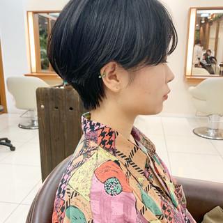 ナチュラル  可愛い ショートヘア ヘアスタイルや髪型の写真・画像