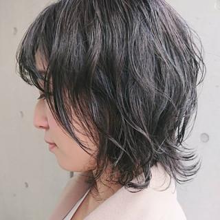 ナチュラル ウルフカット ミニボブ ショートボブ ヘアスタイルや髪型の写真・画像