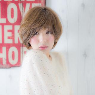 小顔 アッシュ 大人女子 大人かわいい ヘアスタイルや髪型の写真・画像
