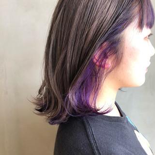 ヘアアレンジ ガーリー グラデーションカラー ミルクティーグレージュ ヘアスタイルや髪型の写真・画像