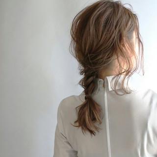 ゆるふわ セミロング 大人かわいい 外国人風 ヘアスタイルや髪型の写真・画像