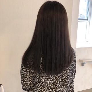 髪質改善トリートメント ナチュラル 最新トリートメント アッシュグレージュ ヘアスタイルや髪型の写真・画像