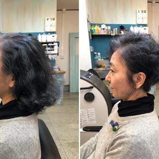 エレガント ヘアカット 無造作ミックス 小顔ヘア ヘアスタイルや髪型の写真・画像