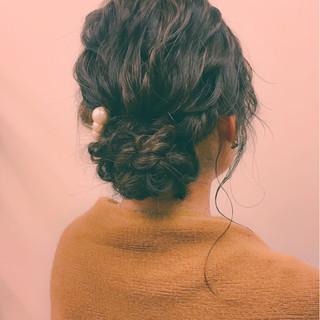 大人女子 ミディアム ヘアアレンジ 冬 ヘアスタイルや髪型の写真・画像 ヘアスタイルや髪型の写真・画像