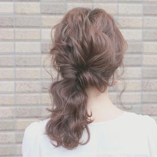 大人かわいい ショート ヘアアレンジ 簡単ヘアアレンジ ヘアスタイルや髪型の写真・画像