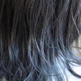 ストリート バレイヤージュ グレージュ グレー ヘアスタイルや髪型の写真・画像