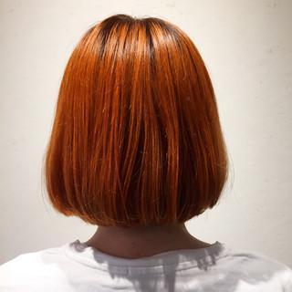 ロブ 外国人風 ゆるふわ 夏 ヘアスタイルや髪型の写真・画像