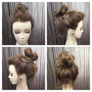 簡単ヘアアレンジ セミロング こなれ感 ヘアアレンジ ヘアスタイルや髪型の写真・画像 ヘアスタイルや髪型の写真・画像