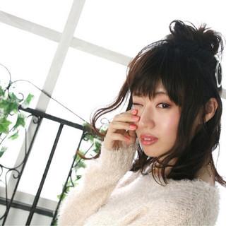 色気 ショート 冬 簡単ヘアアレンジ ヘアスタイルや髪型の写真・画像 ヘアスタイルや髪型の写真・画像