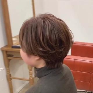 ショートボブ ショート ゆるふわ 大人かわいい ヘアスタイルや髪型の写真・画像