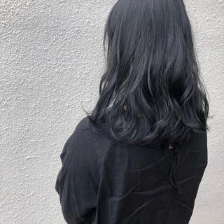 セミロング ナチュラル可愛い ナチュラル 抜け感 ヘアスタイルや髪型の写真・画像