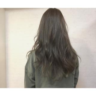 前髪あり ブルージュ かき上げ前髪 大人かわいい ヘアスタイルや髪型の写真・画像