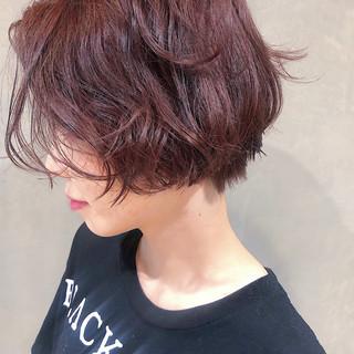 似合わせ ショート 透明感 モード ヘアスタイルや髪型の写真・画像