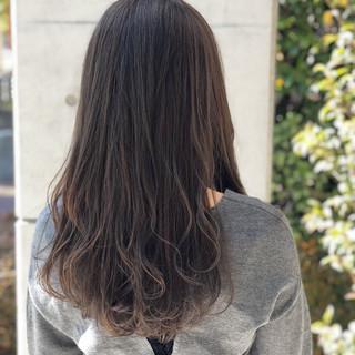 デート フェミニン 愛され ロング ヘアスタイルや髪型の写真・画像