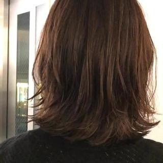 ボブ 外国人風 ウェーブ リラックス ヘアスタイルや髪型の写真・画像