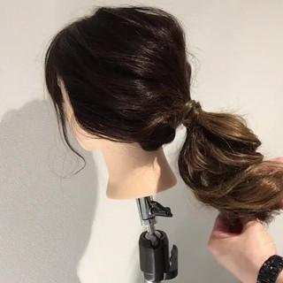 ショート 簡単ヘアアレンジ ナチュラル 時短 ヘアスタイルや髪型の写真・画像 ヘアスタイルや髪型の写真・画像