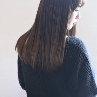 似合わせカット ロング ナチュラル 可愛い ヘアスタイルや髪型の写真・画像