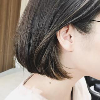 アンニュイ モード ハイライト ローライト ヘアスタイルや髪型の写真・画像