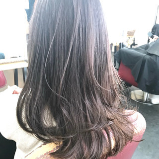 圧倒的透明感 透明感 イルミナカラー 透明感カラー ヘアスタイルや髪型の写真・画像 ヘアスタイルや髪型の写真・画像