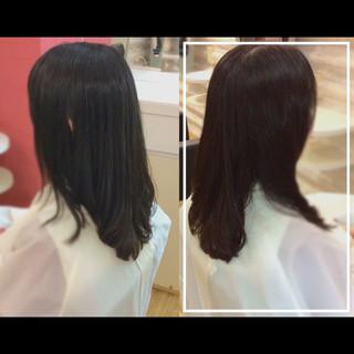 大人ヘアスタイル 髪質改善トリートメント 艶髪 社会人の味方 ヘアスタイルや髪型の写真・画像