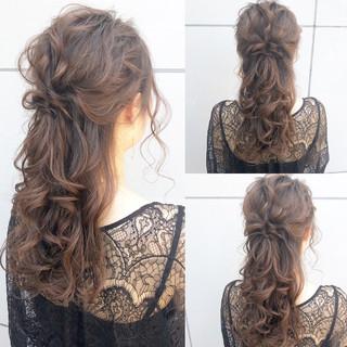 ナチュラル デート ロング アンニュイほつれヘア ヘアスタイルや髪型の写真・画像 ヘアスタイルや髪型の写真・画像