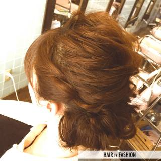 コンサバ 結婚式 モテ髪 愛され ヘアスタイルや髪型の写真・画像
