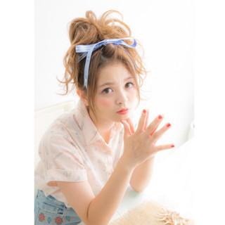 ミディアム アップスタイル ショート ヘアアレンジ ヘアスタイルや髪型の写真・画像