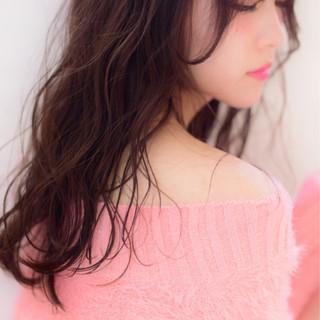 黒髪 冬 セミロング 色気 ヘアスタイルや髪型の写真・画像