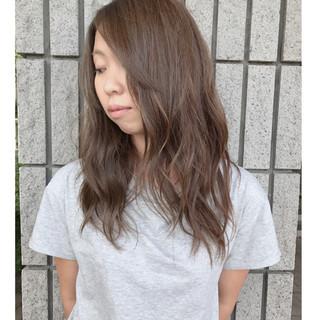 ウェーブ 外国人風カラー ナチュラル アンニュイ ヘアスタイルや髪型の写真・画像