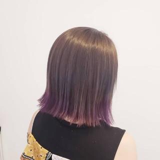 ナチュラル 髪質改善トリートメント 透明感 ブリーチ ヘアスタイルや髪型の写真・画像