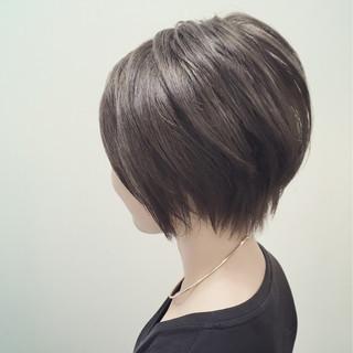 黒髪 ナチュラル アッシュ 暗髪 ヘアスタイルや髪型の写真・画像 ヘアスタイルや髪型の写真・画像