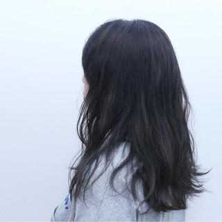 ダブルカラー ストリート グラデーションカラー セミロング ヘアスタイルや髪型の写真・画像 ヘアスタイルや髪型の写真・画像