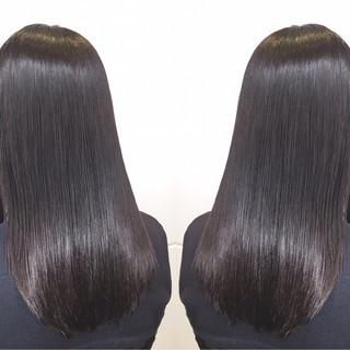 アウトドア ナチュラル ロング オフィス ヘアスタイルや髪型の写真・画像