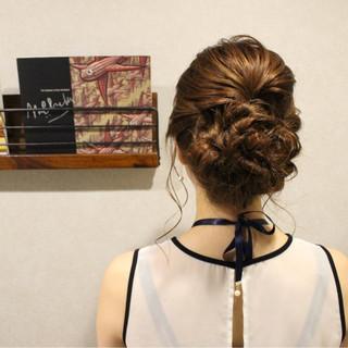 上品 エレガント 結婚式 デート ヘアスタイルや髪型の写真・画像
