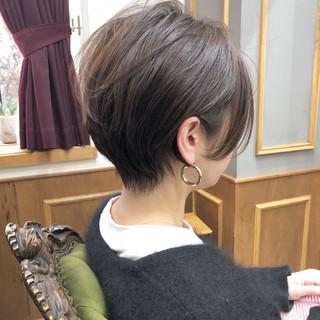 ベリーショート マッシュショート ショートボブ ショート ヘアスタイルや髪型の写真・画像