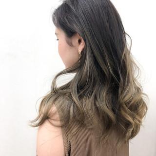 外国人風フェミニン フェミニン バレイヤージュ 外国人風カラー ヘアスタイルや髪型の写真・画像