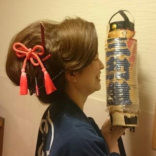 着物 和装 和服 夜会巻 ヘアスタイルや髪型の写真・画像