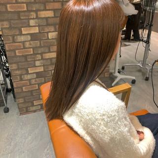 イルミナカラー 透明感カラー ロング ダメージレス ヘアスタイルや髪型の写真・画像