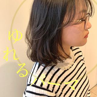 デジタルパーマ コスメ・メイク ボブ 毛先パーマ ヘアスタイルや髪型の写真・画像