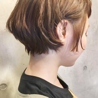 ショート ナチュラル 大人女子 爽やか ヘアスタイルや髪型の写真・画像